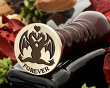 Love Dragons Forever Wax Seal