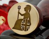 Britannia wax seal design