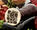Ganesh D3 wax seal stamp