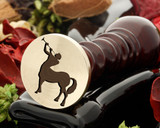 Centaur wax seal, reversed for engraving