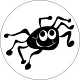 INSECTS - CARTOON SPIDER