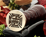Knights Templar 1 wax seal