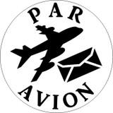 Design as shown including text PAR AVION