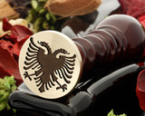 Crest Eagle 1 wax seal stamp