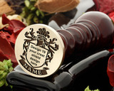 Wax seal crest design 19