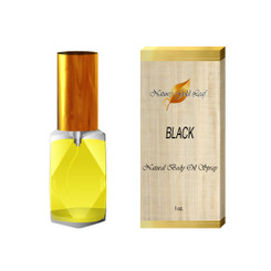 Black by Kenneth Cole Body Oil Spray for Men 1 oz.