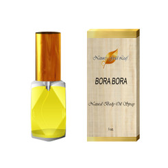 Bora Bora Natural Body Oil Spray for Men 1 oz.