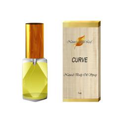 Curve Natural Body Oil Spray for Men 1 oz.