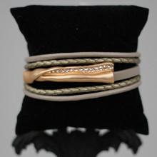 Beige Crystal Bracelet