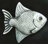 AB Symetree - Fish Palm Charm, White