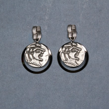 Ancient Coinage Eardrops