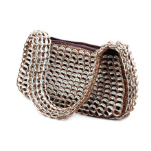 soda tab purse kelly handbag in brown