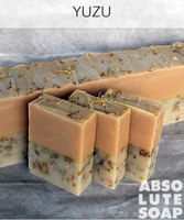 Yuzu Handmade Soap with Calendula