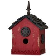 Red Harvest Mahogany Interior Bird House