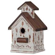 Chapel White Mahogany Interior Bird House