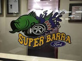 Super Barra stickers- 200mmX120mm