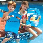 Aqua Coach SkillSchool Foam Kickboard Blue Yellow Pink