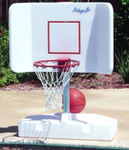 Pool Shot Wing-it Basketball Game for In Ground Pools