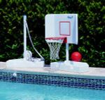 Pool Shot Water Volleyball and Basketball Combo Game