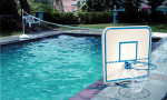 Poolside Basketball and Volleyball Combo Game