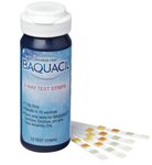 Baquacil 4-Way Test Strips with  Oxidizer Pad