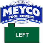 Meyco Rectangle with Offset Left Steps Safety Pool Cover