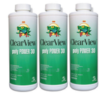 ClearView PolyPower 30 Algaecide 32 oz - 3 Pack