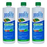 POOLIFE Defend+ Pool Algaecide 32 oz - 3 Pack