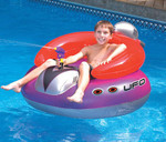 Swimline Inflatable UFO Ride-On Squirter
