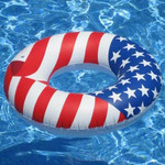"Swimline Americana 36"" Full Size Swim Ring"