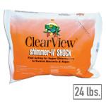 ClearView Shimmer-n-Shock Chlorinated Pool Shock 24 lbs