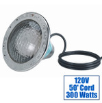 Pentair AmerLite White 300W 120V Pool Light with 50 ft Cord