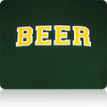 Green Bay Packers Beer T Shirt (Hunter Gold White)
