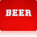 Philadelphia Phillies Beer T Shirt (Red White Pinstripes)