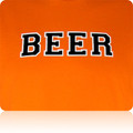 San Francisco Giants Beer T Shirt (Orange Black White)