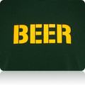 Green Bay Packers Beer T Shirt (Premium)