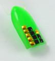 TNS Square Metal Beads Nail Art Wheel 240PCS (12 Metallic Colours) (2MM X 2MM)