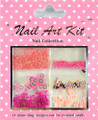 Nail Art Decorative Kit #10 - Pink Fruit Blast