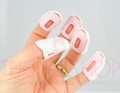 Example of Use. Technology Friendly Nail Clips.