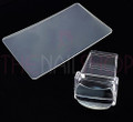 Clear Rectangular Stamper for Stamping Plates