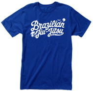 Paradise Brazilian Jiu-Jitsu T-shirt, White Graphic (Many Shirt Colours)