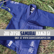 Navy Jiu-Jitsu Kanji Samurai, BJJ Gi, Ju Jitsu Gi, Kimono