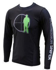 Submission Sniper No Gi Long Sleeve Rash Guard , BJJ