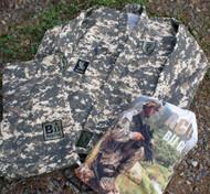 """"""" ACU"""" Limited Camouflage BJJ GI, Black Ops Design #4"""