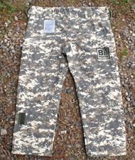 """Pants """" ACU"""" Limited Camouflage BJJ GI, Black Ops Design #4"""