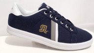 Navy Uno shoes by SL daps