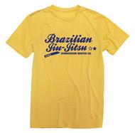 Smooth Brazilian Navy Graphic Jiu-Jitsu T-shirt (Many Colours)