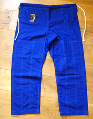 BJJ Pants, Riptstop Fabric BLUE Trousers, Brazilian Jiu Jitsu