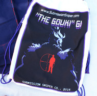 """The Gouki GI""  Great Demon, Akuma,  Street Fighter character esque BJJ GI"