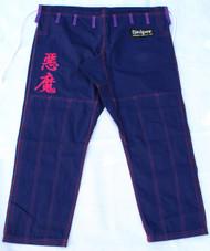 """The Gouki GI Pants""  Great Demon, Akuma,  Street Fighter character esque BJJ GI"